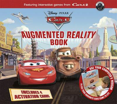 Disney Cars Augmented Reality Book (BOK)