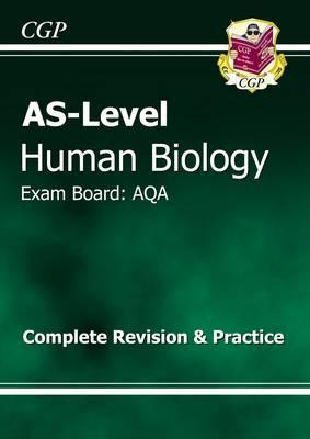 AS-Level Human Biology AQA Complete Revision & Practice (BOK)