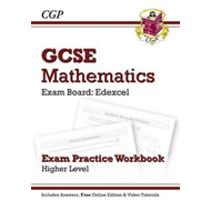 GCSE Maths Edexcel Exam Practice Workbook with Answers & Onl (BOK)