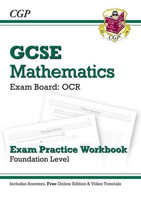 GCSE Maths OCR Exam Practice Workbook with Answers & Online Edn: Foundation (BOK)