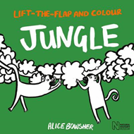Lift-the-flap and Colour Jungle (BOK)