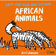 Lift-the-flap and Colour African Animals (BOK)