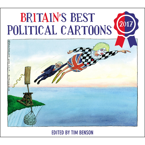Britain's Best Political Cartoons 2017 (BOK)