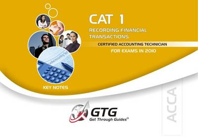 ACCA - CAT 1: Recording Financial Transactions (INT) (BOK)
