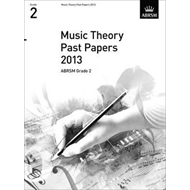 Music Theory Past Papers 2013, ABRSM Grade 2 (BOK)