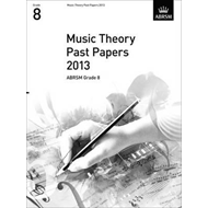 Music Theory Past Papers 2013, ABRSM Grade 8 (BOK)