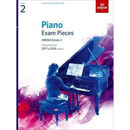 Piano Exam Pieces 2017 & 2018, Grade 2, with CD (BOK)