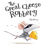 Produktbilde for Great Cheese Robbery (BOK)