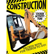 Produktbilde for Construction Sticker Activity Fun (BOK)