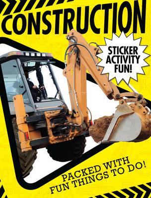 Construction Sticker Activity Fun (BOK)