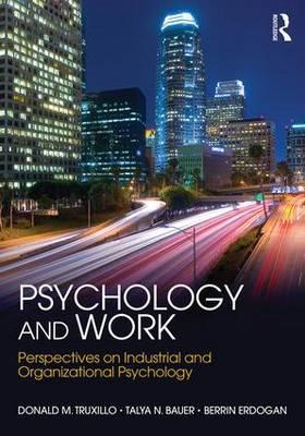 Psychology and Work (BOK)