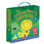 Produktbilde for Crunching Munching Caterpillar: Storybook and Double-Sided J (BOK)