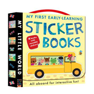 My First Early-Learning Sticker Books (BOK)