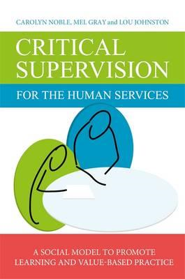 Critical Supervision for the Human Services (BOK)