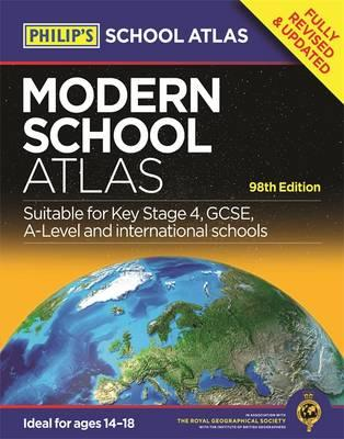 Philip's Modern School Atlas: 98th Edition (BOK)
