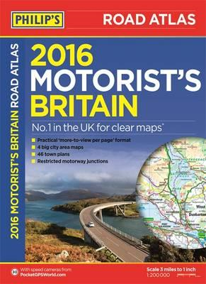 Philip's Motorist's Road Atlas Britain (BOK)