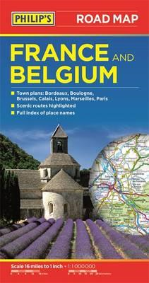Philip's Road Map France and Belgium (BOK)