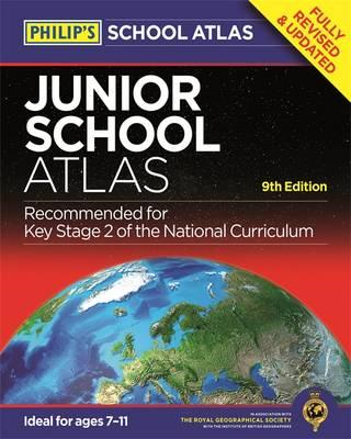 Philip's Junior School Atlas 9th Edition (BOK)