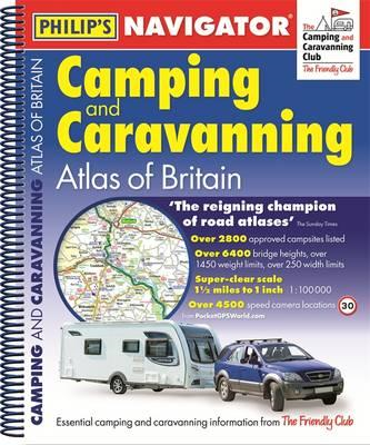 Philip's Navigator Camping and Caravanning Atlas of Britain: (BOK)