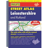Philip's Street Atlas Leicestershire and Rutland (BOK)
