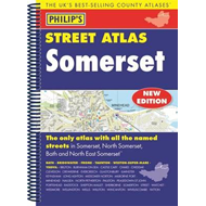 Produktbilde for Philip's Street Atlas Somerset (BOK)