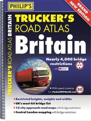 Philip's 2018 Trucker's Atlas Britain (BOK)
