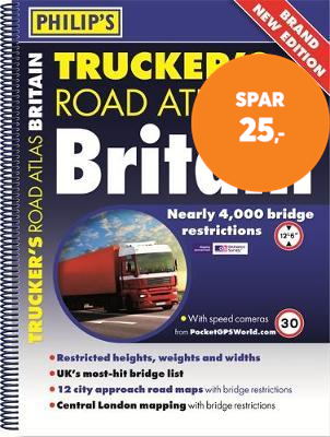 Philip's Trucker's Road Atlas of Britain (BOK)