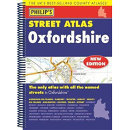 Philip's Street Atlas Oxfordshire 5ED Spiral (New Edition) (BOK)