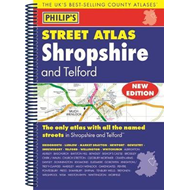 Philip's Street Atlas Shropshire and Telford (BOK)