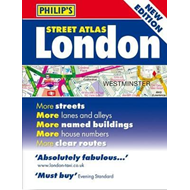 Philip's Street Atlas London (BOK)