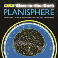 Produktbilde for Philip's Glow-in-the-Dark Planisphere (Latitude 51.5 North) - For use in Britain and Ireland, Northe (BOK)