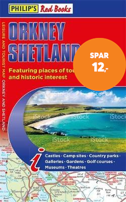 Philip's Orkney and Shetland: Leisure and Tourist Map 2020 - Leisure and Tourist Map (BOK)
