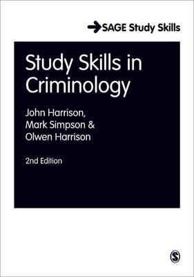 Study Skills for Criminology (BOK)