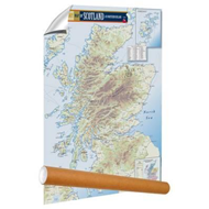 Malt Whisky Map of Scotland and Northern Ireland (BOK)