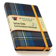 Holyrood: Waverley Genuine Tartan Cloth Commonplace Notebook (BOK)