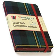Malcolm: Waverley Genuine Tartan Cloth Commonplace Notebook (BOK)