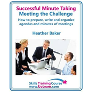 Successful Minute Taking and Writing - How to Prepare, Organ (BOK)