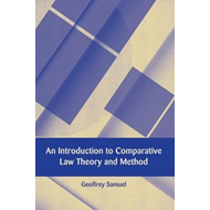 Introduction to Comparative Law Theory and Method (BOK)