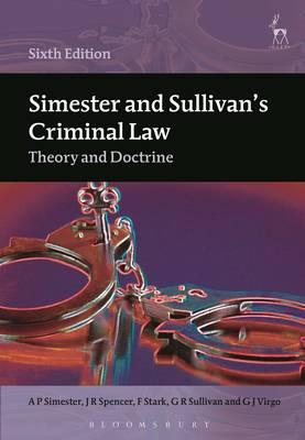 Simester and Sullivan's Criminal Law (BOK)