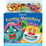 Magnetic Funny Monsters (BOK)
