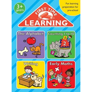 First Time Learning Bumper: The Alphabet; Counting 1 to 10; Writing; Early Maths (BOK)
