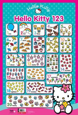 Hello Kitty Wall Chart 123 (BOK)