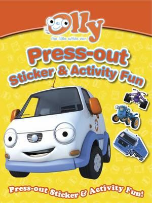 Olly the Little White Van Press-out Sticker & Activity Fun (BOK)