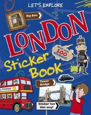 London Sticker Book (BOK)
