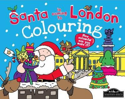 Santa is Coming to London Colouring (BOK)