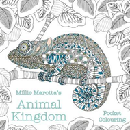 Produktbilde for Millie Marotta's Animal Kingdom Pocket Colouring (BOK)