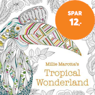Produktbilde for Millie Marotta's Tropical Wonderland Pocket Colouring (BOK)