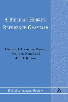 Biblical Hebrew Reference Grammar (BOK)
