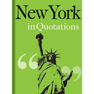 New York in Quotations (BOK)
