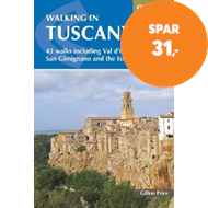 Produktbilde for Walking in Tuscany - 43 walks including Val d'Orcia, San Gimignano and the Isle of Elba (BOK)